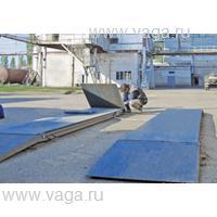 Весы автомобильные Пандусы металлические для весов ВАЛ-М (4 шт)