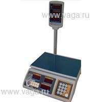 Весы торговые со стойкой DIGI DS-700 РE-15