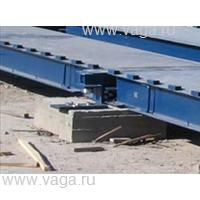 Весы автомобильные с полным заездом ВСА-Р100000-27.3