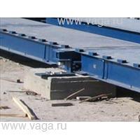 Весы автомобильные с полным заездом ВСА-Р40000-6.3