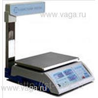 Весы торговые со стойкой ВСП-15.2-4ТС Люкс (ЖКИ)