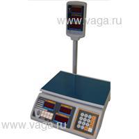 Весы торговые со стойкой DIGI DS-700 РE-3