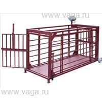 Весы для взвешивания животных ВП-ЖК-50